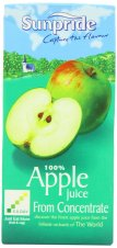 SUNPRIDE APPLE JUICE - CARTONS