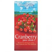 SUNPRIDE  CRANBERRY JUICE - CARTONS